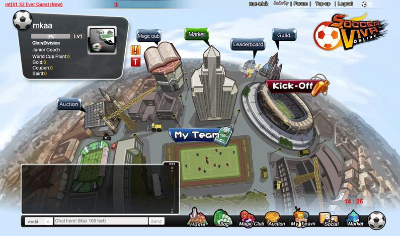 soccer manager games
